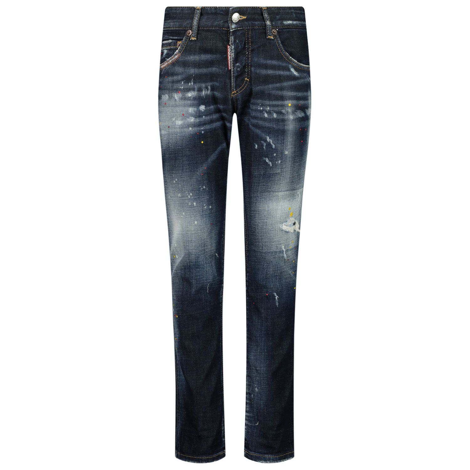 Picture of Dsquared2 DQ01Q3 D005A kids jeans jeans
