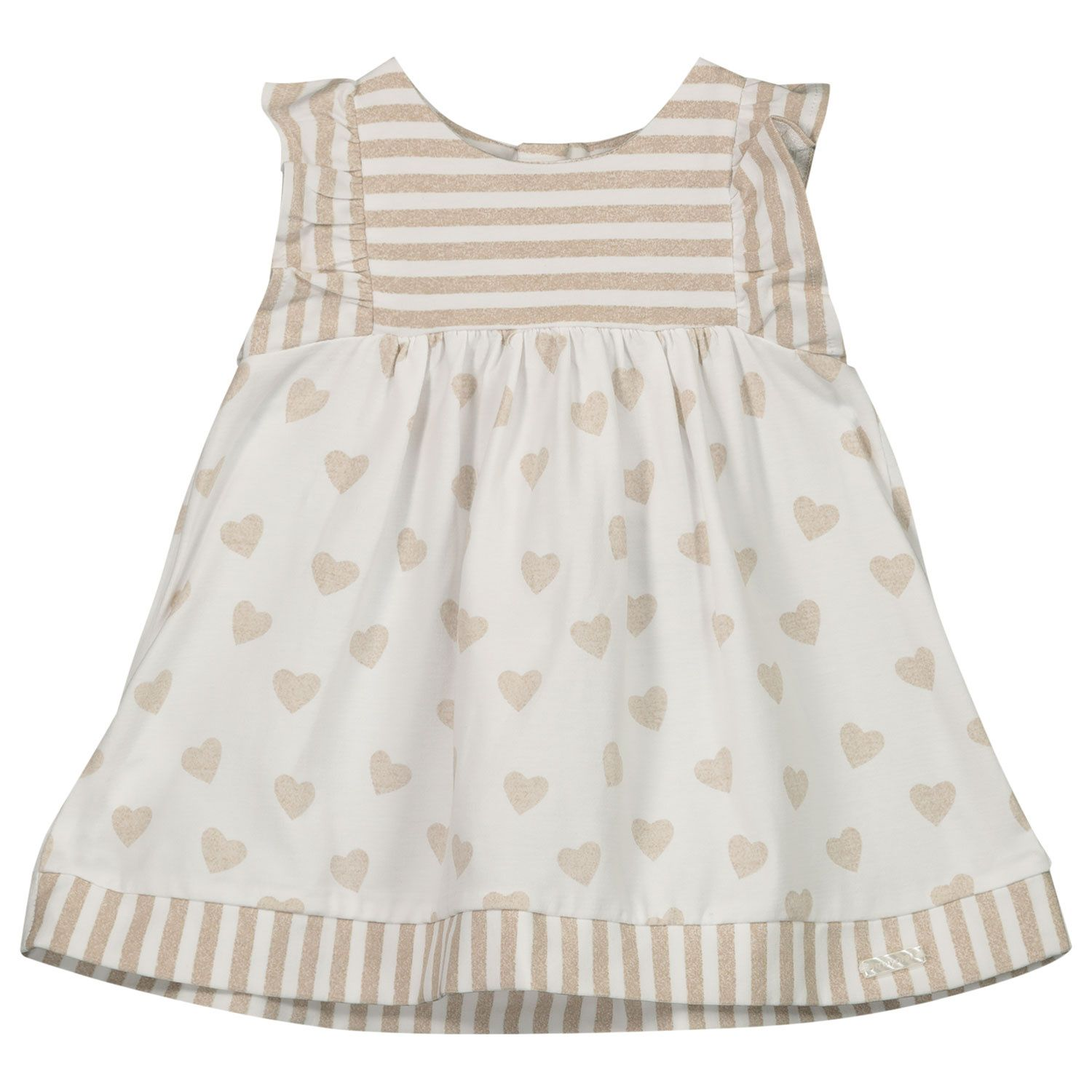 Picture of Mayoral 1802 baby dress taupe