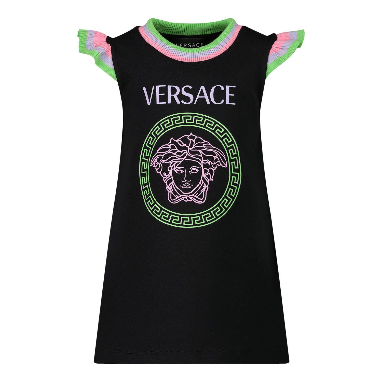 Afbeelding van Versace 1000062 babyjurkje zwart