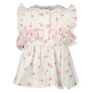Afbeelding van MonnaLisa 317301 baby blouse off white