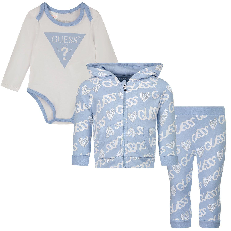 Bild von Guess H1YW09 J Baby-Trainingsanzug Hellblau
