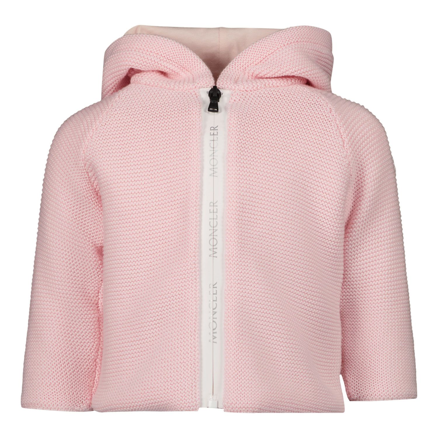 Picture of Moncler 9B70500 baby vest light pink
