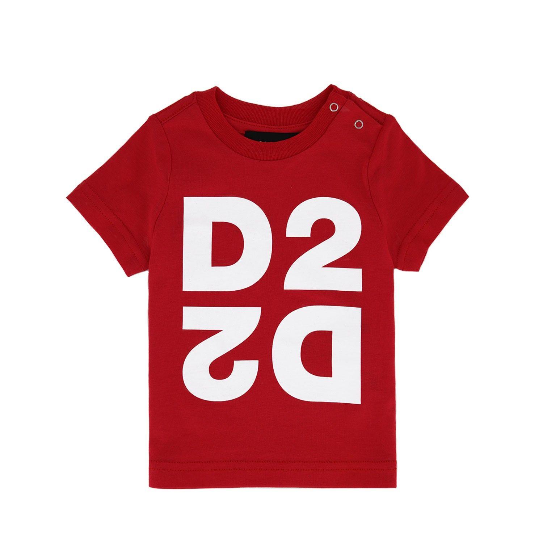 Bild von Dsquared2 DQ044H Baby-T-Shirt Rot