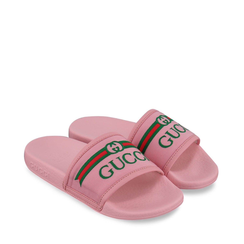 Bild von Gucci 629741 Kinder-Flip-Flops Pink