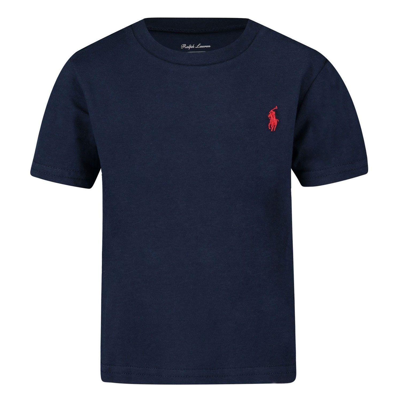 Picture of Ralph Lauren 674984 kids t-shirt navy