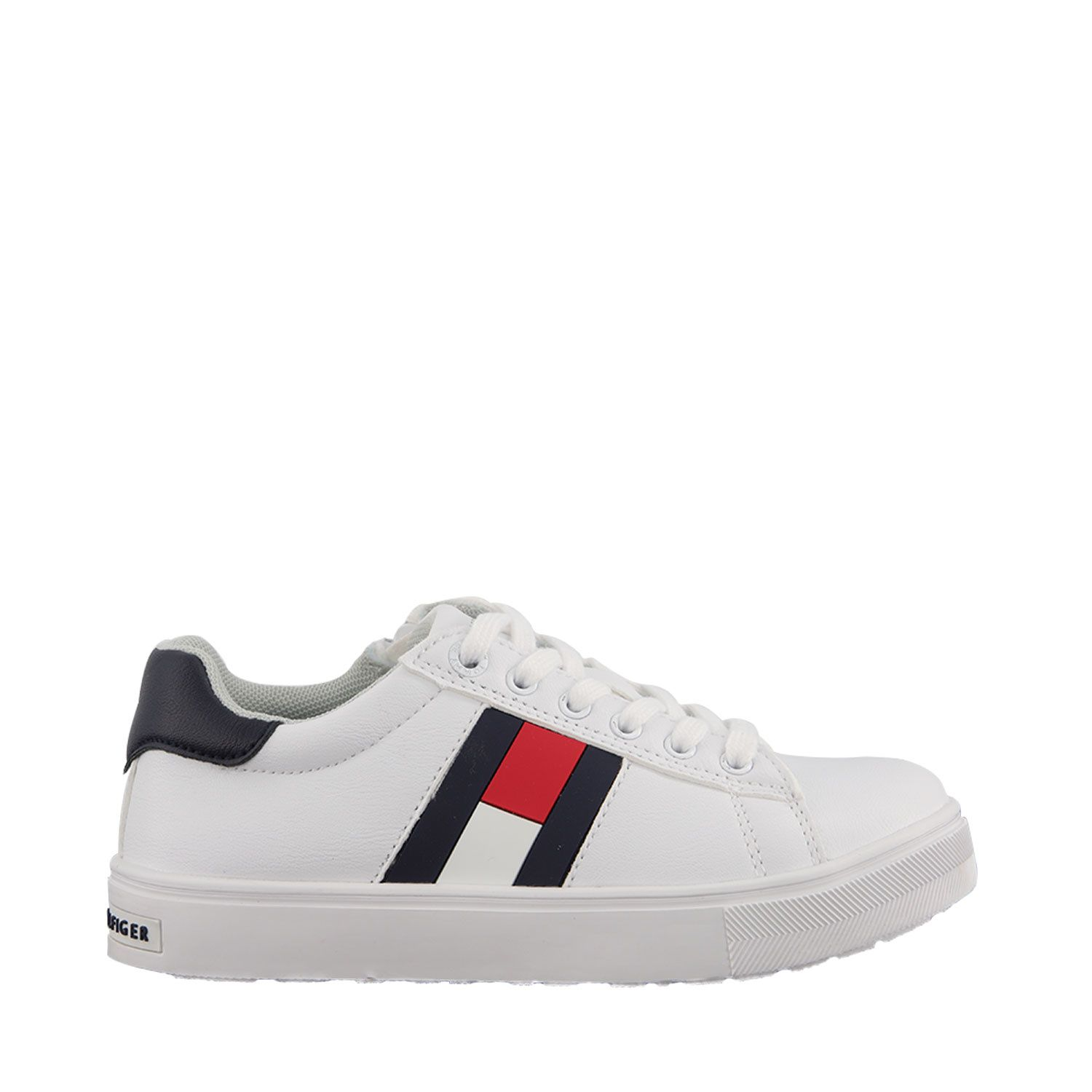Picture of Tommy Hilfiger 30921 kids sneakers white