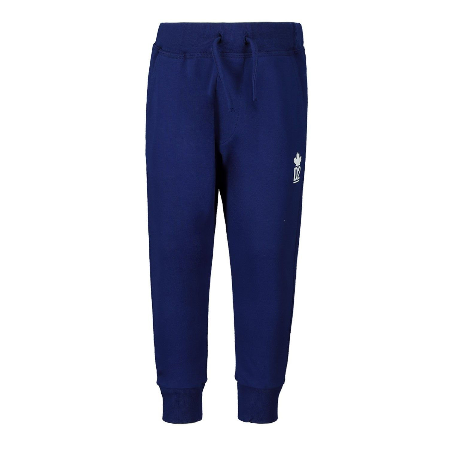 Picture of Dsquared2 DQ03NA baby pants cobalt blue