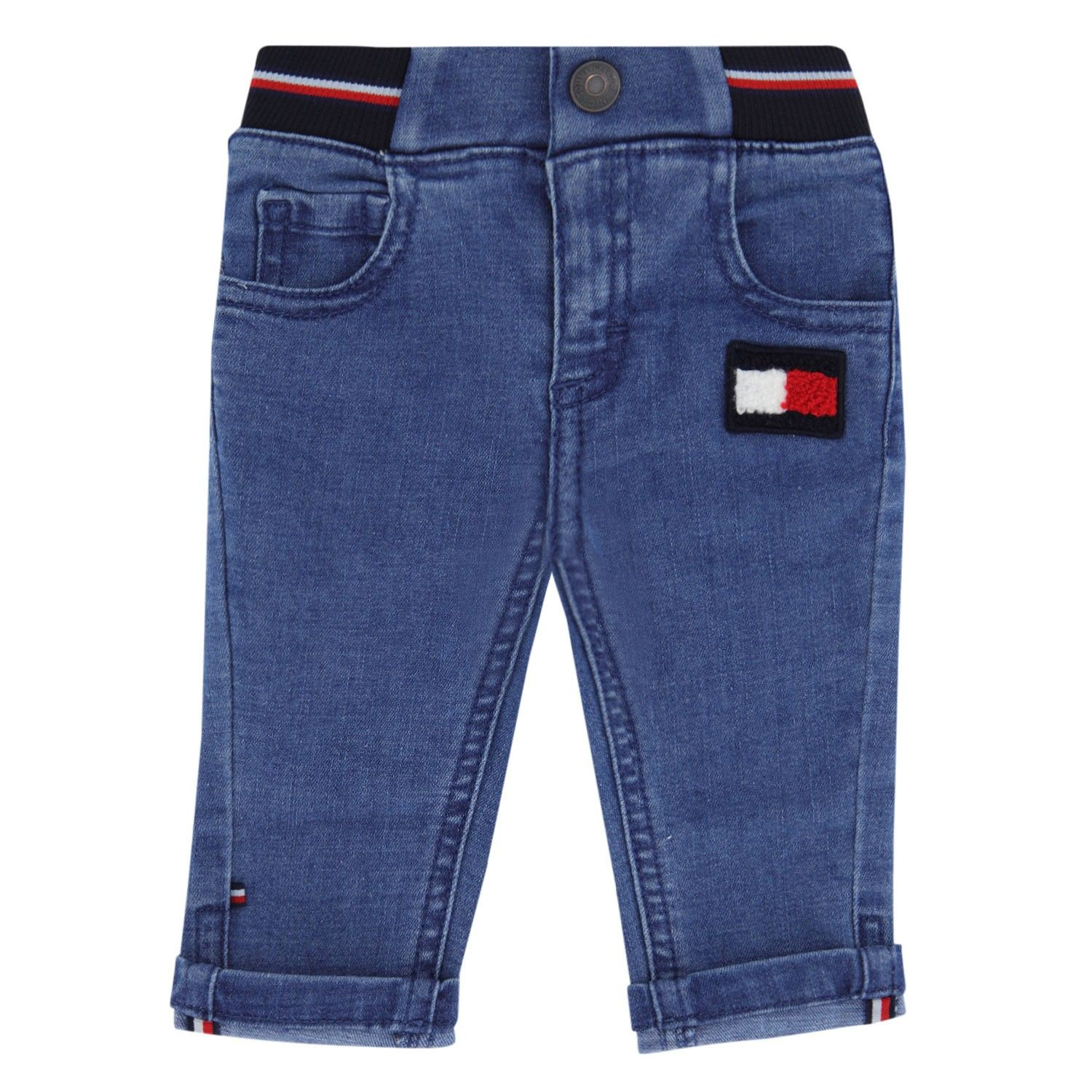 Picture of Tommy Hilfiger KN0KN01205 baby pants jeans