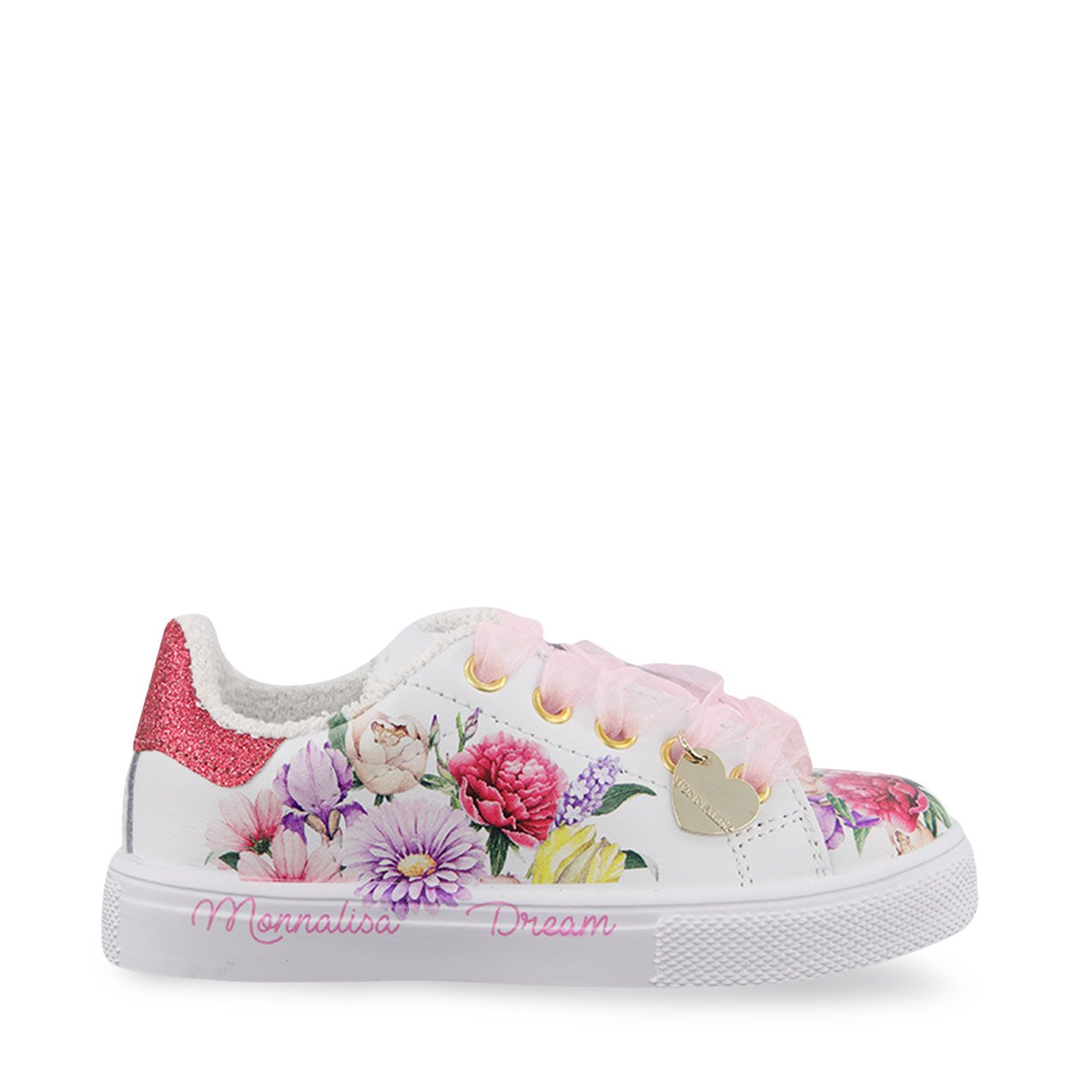 Picture of MonnaLisa 8C7000 kids sneakers white