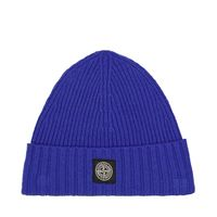 Picture of Stone Island MO7316N03A8 kids hat cobalt blue
