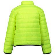 Afbeelding van Moncler 1A51S10 kinderjas fluor geel