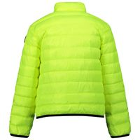 Picture of Moncler 1A51S10 kids jacket fluoro yellow