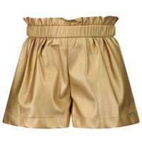 Picture of Liu Jo KF1119 kids shorts gold