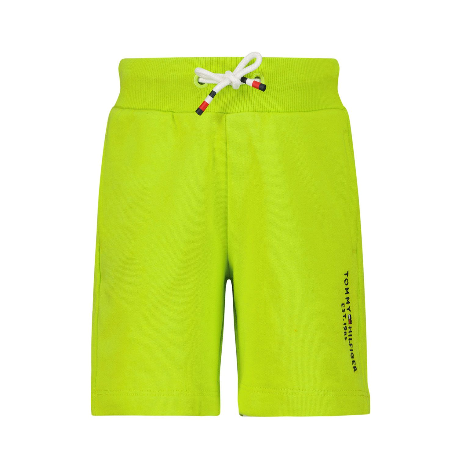 Picture of Tommy Hilfiger KB0KB05671B baby shorts fluoro yellow