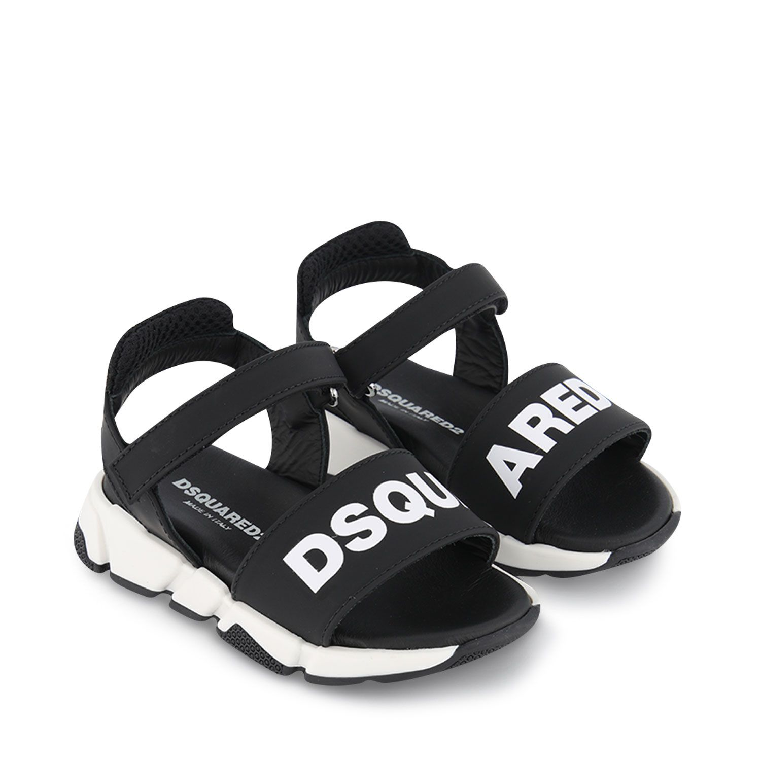 Picture of Dsquared2 66961 kids sandals black