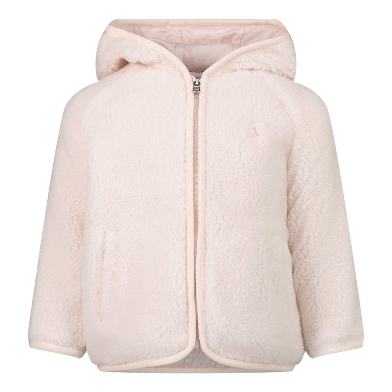 Picture of Ralph Lauren 851101 baby coat light pink
