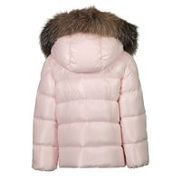 Picture of Moncler 1A52602 baby coat light pink