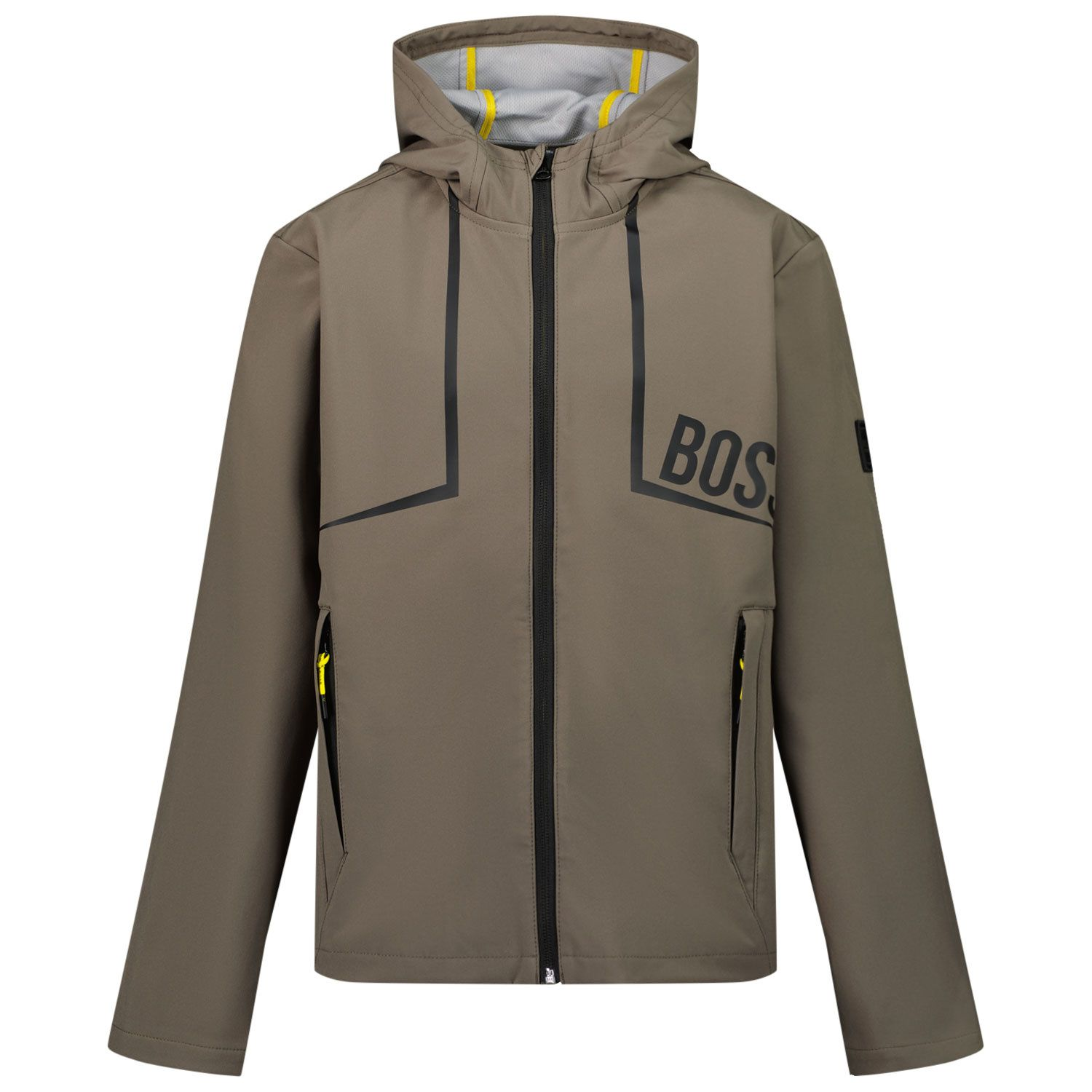 Picture of Boss J26431 kids jacket army
