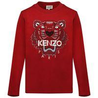 Picture of Kenzo K25177 kids t-shirt dark red