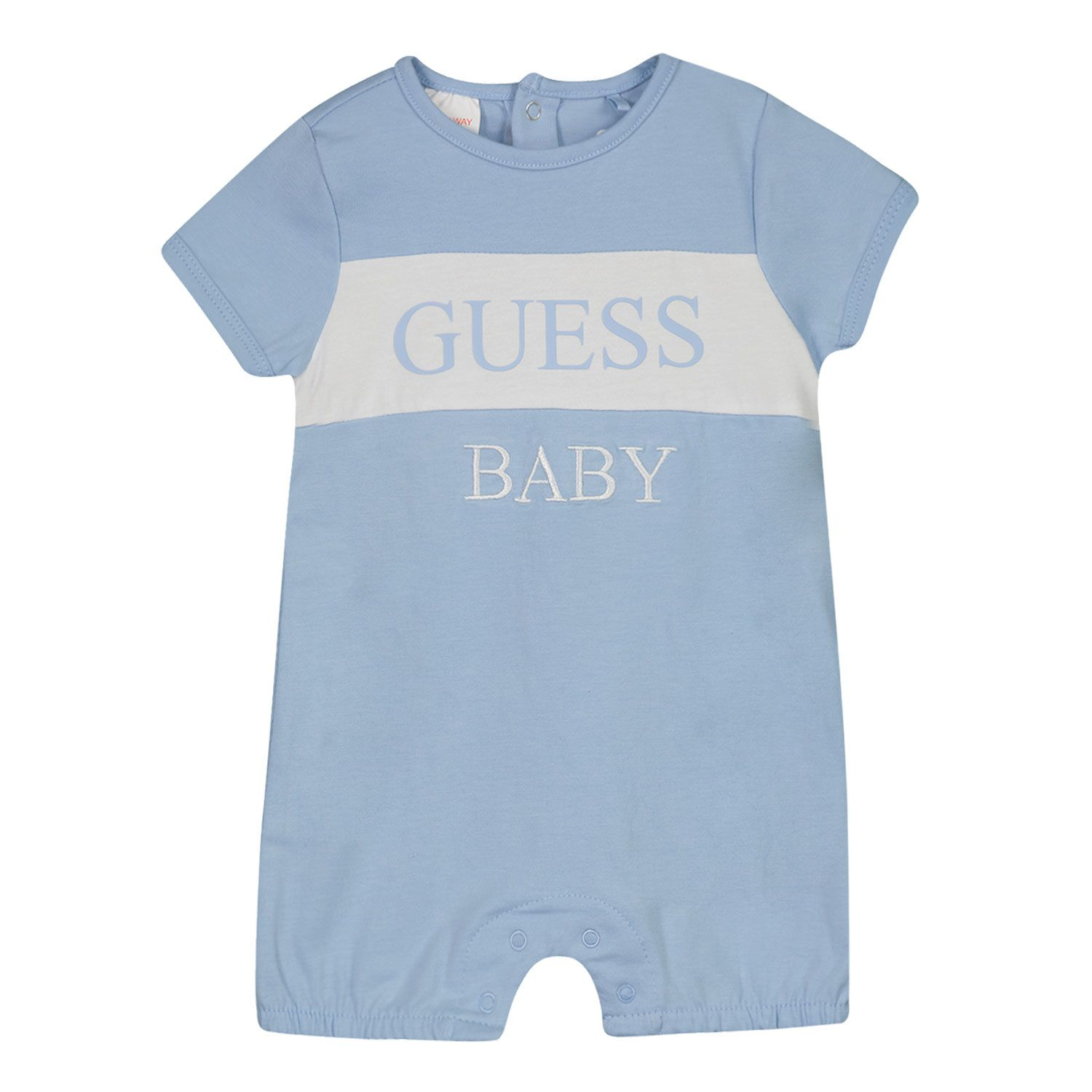 Picture of Guess H1GW01 baby playsuit light blue