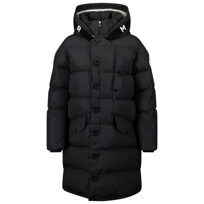 Picture of Moncler 1C51220 kids jacket black