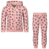 Picture of Moschino M5K00G baby sweatsuit light pink