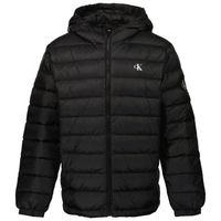 Picture of Calvin Klein IB0IB00554 kids jacket black