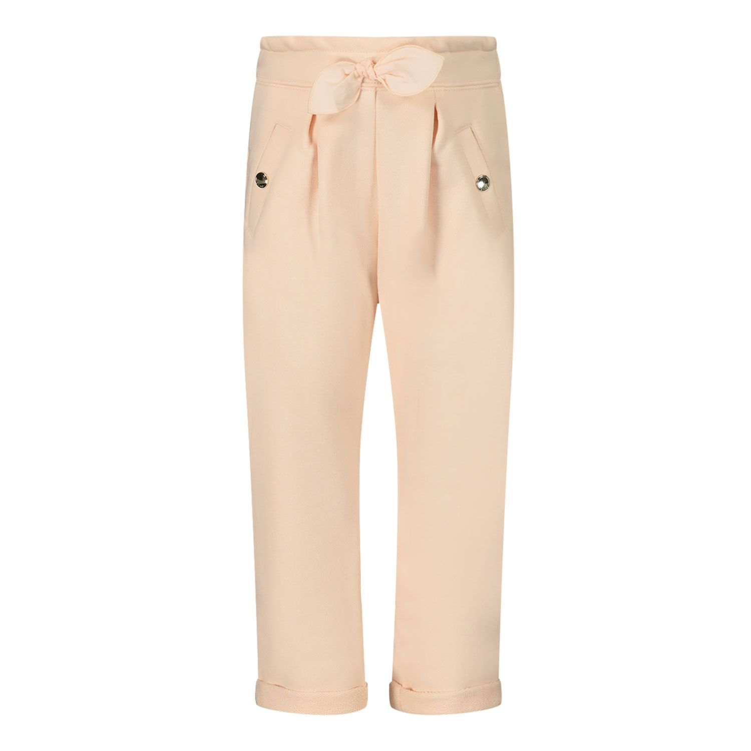 Picture of Chloé C04189 baby pants salmon