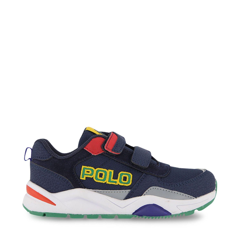 Picture of Ralph Lauren CHANNING EZ kids sneakers navy