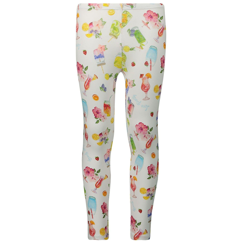 Afbeelding van MonnaLisa 115422 kinder legging wit