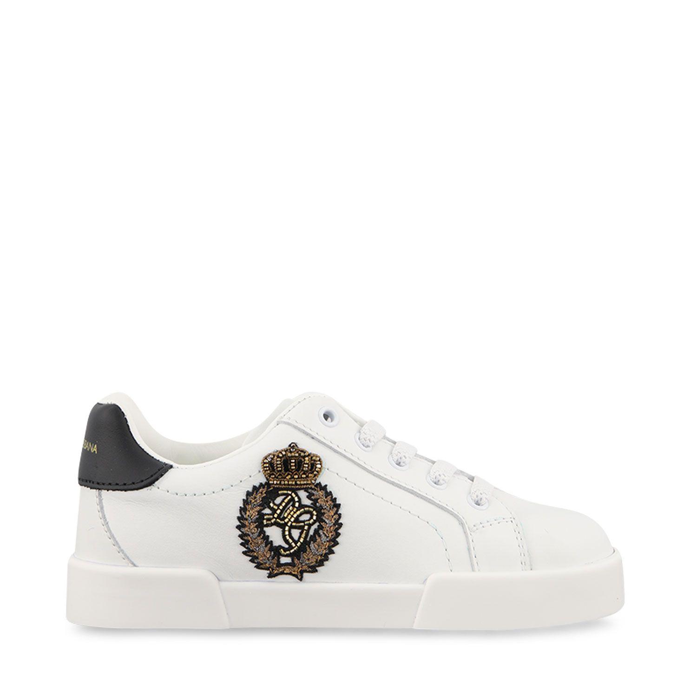 Bild von Dolce & Gabbana DA0702 AJ822 Kindersneaker Weiß