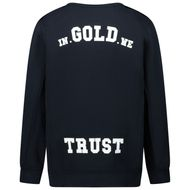 Afbeelding van in Gold We Trust THE REAKWON SWEAT kindertrui navy
