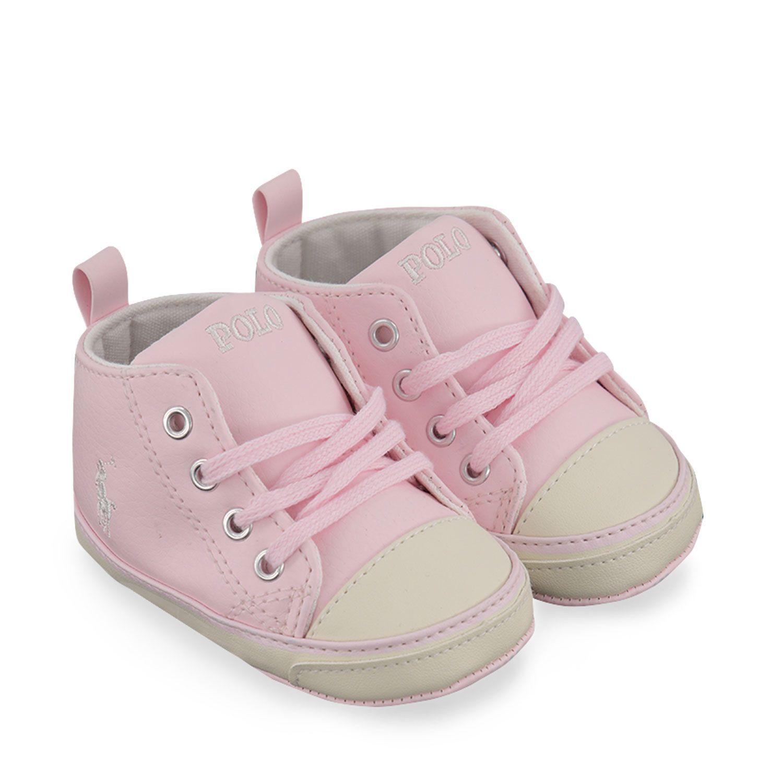 Picture of Ralph Lauren HAMPTYN HI baby sneakers light pink