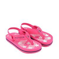 Picture of Tommy Hilfiger 30881 kids flipflops fuchsia