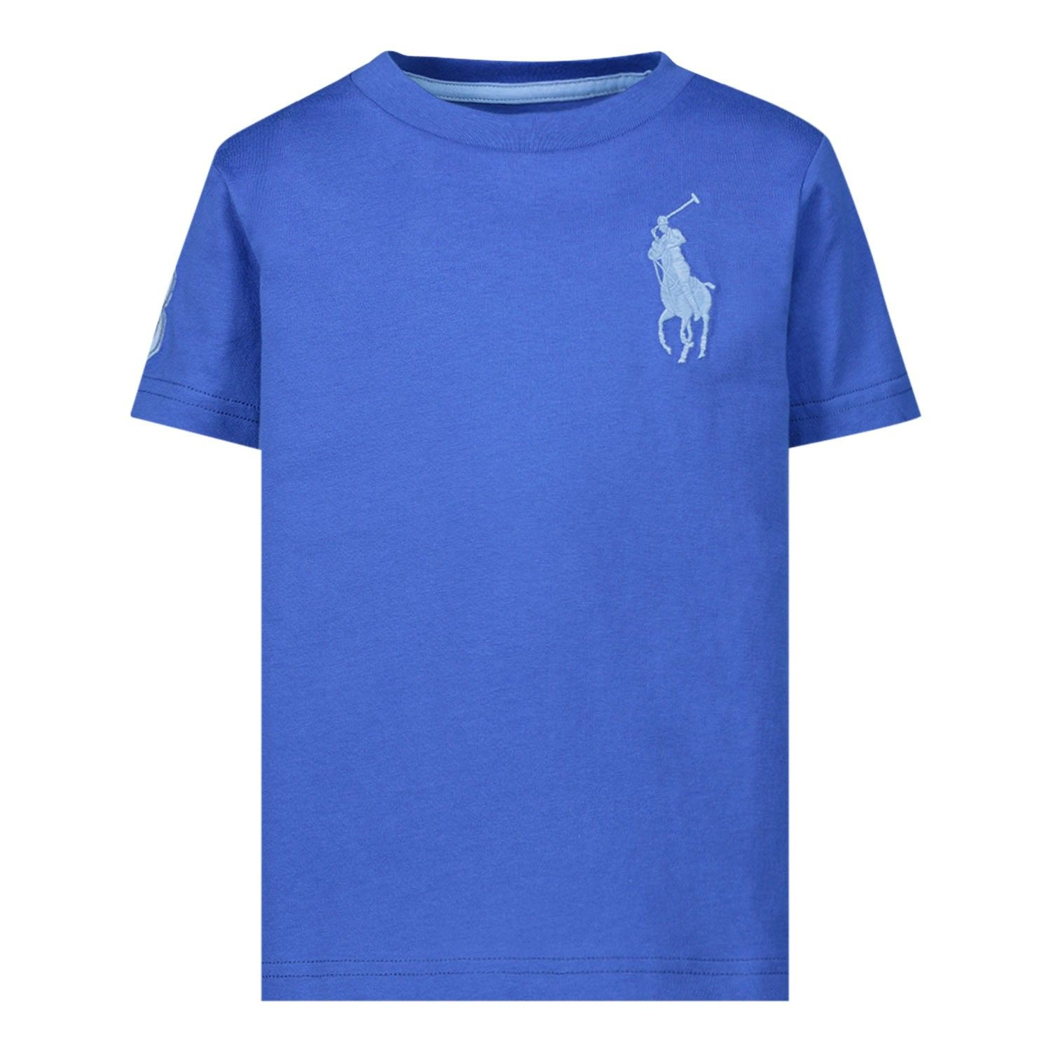Picture of Ralph Lauren 770177 kids t-shirt blue