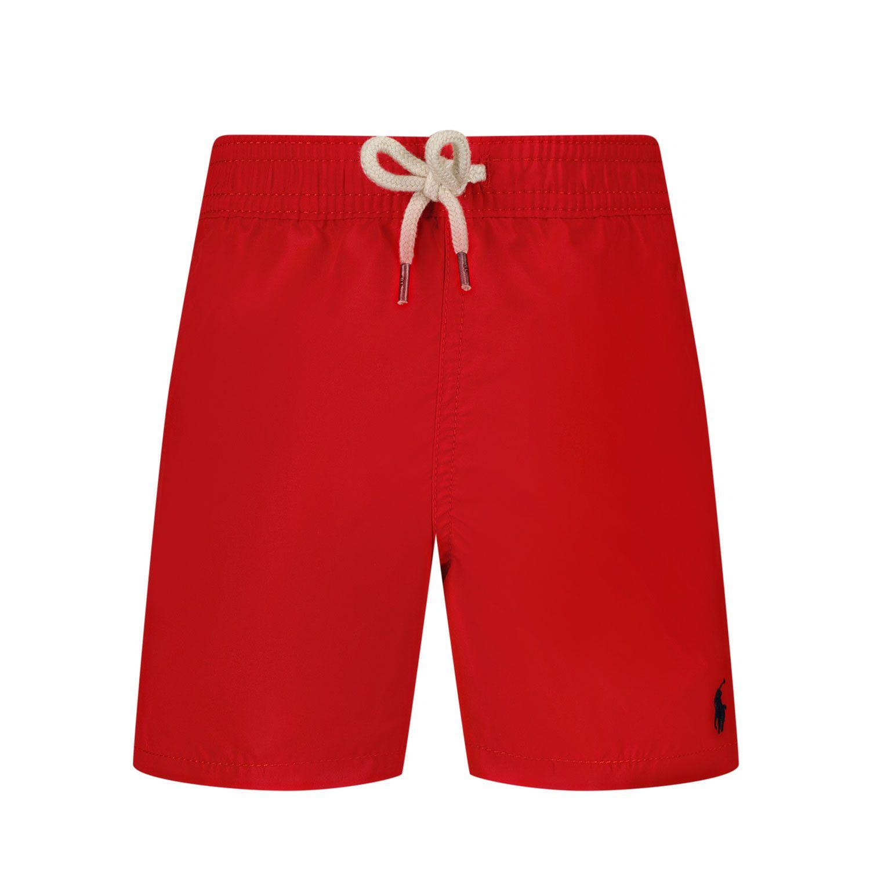 Picture of Ralph Lauren 320785582 baby swimwear red