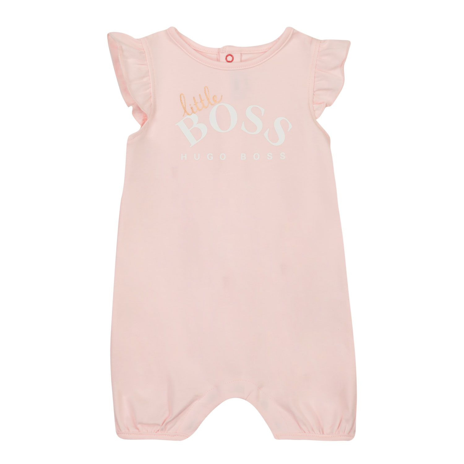 Picture of Boss J94282 baby playsuit light pink