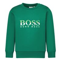 Picture of Boss J05892 baby sweater green