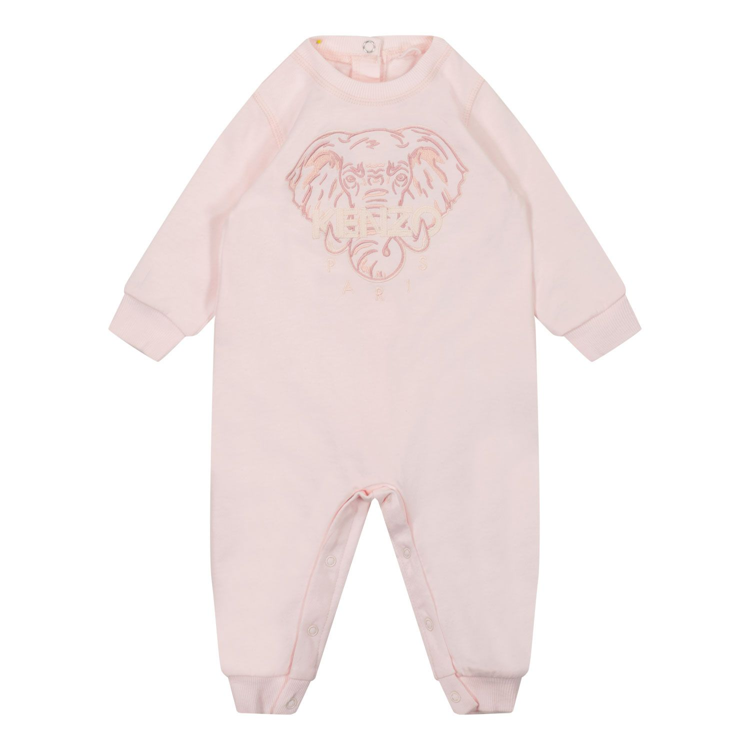 Picture of Kenzo K94016 baby playsuit light pink