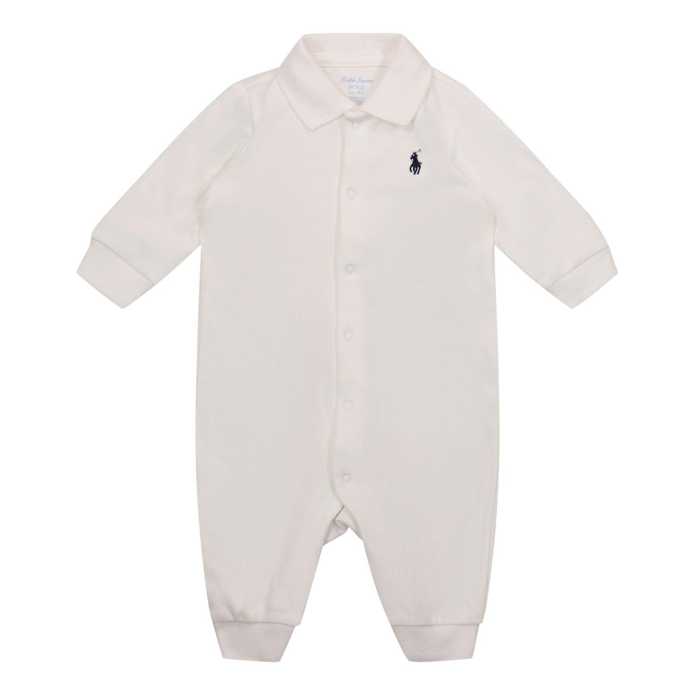 Bild von Ralph Lauren 512322 Babystrampelanzug Weiß