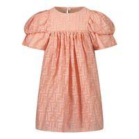 Picture of Fendi BFB363 AEZ9 baby dress light pink
