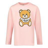 Afbeelding van Moschino MOO005 baby t-shirt licht roze