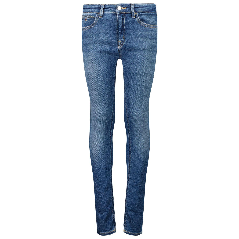Afbeelding van Calvin Klein IG0IG01037 kinderbroek jeans