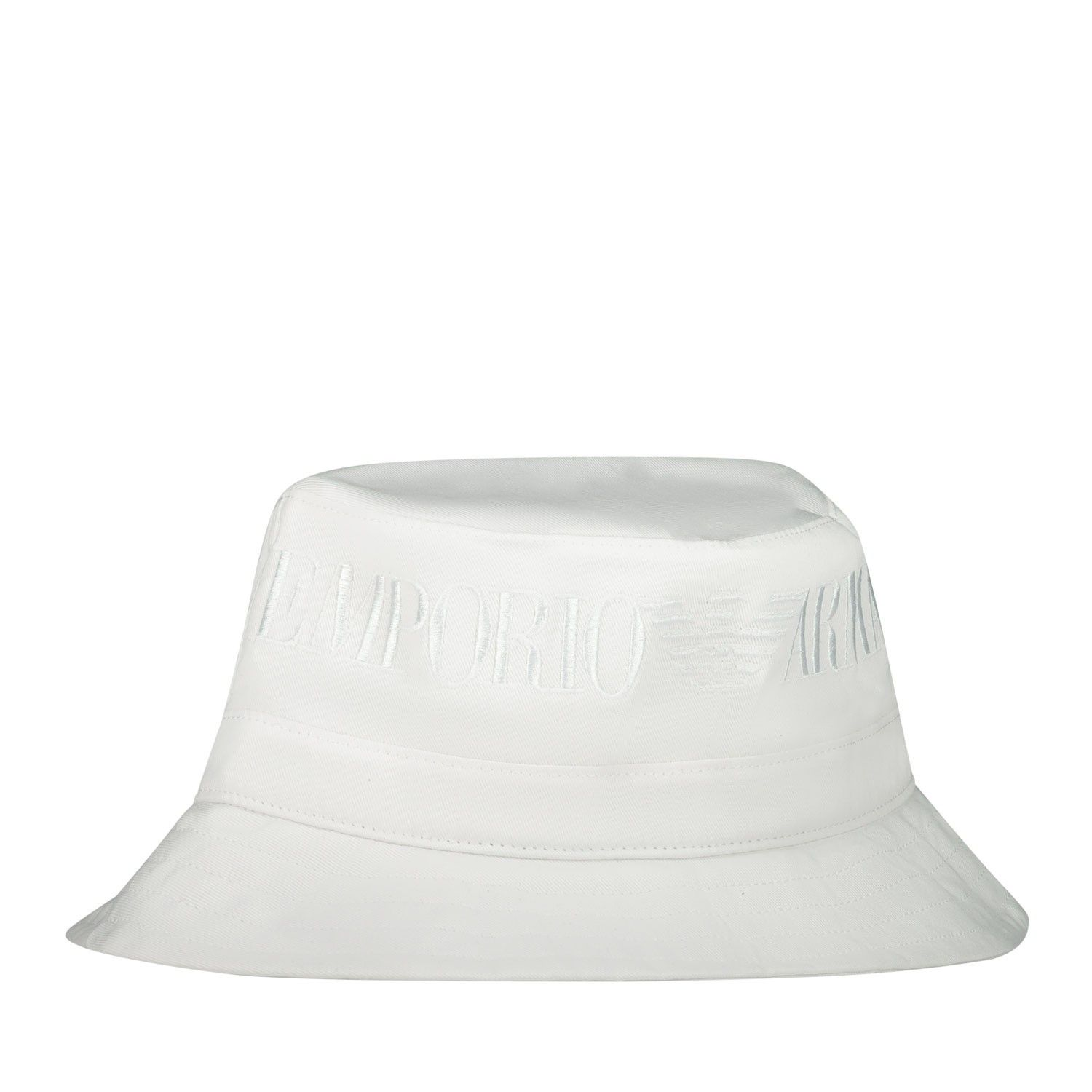 Picture of Armani 404607 kids hat white