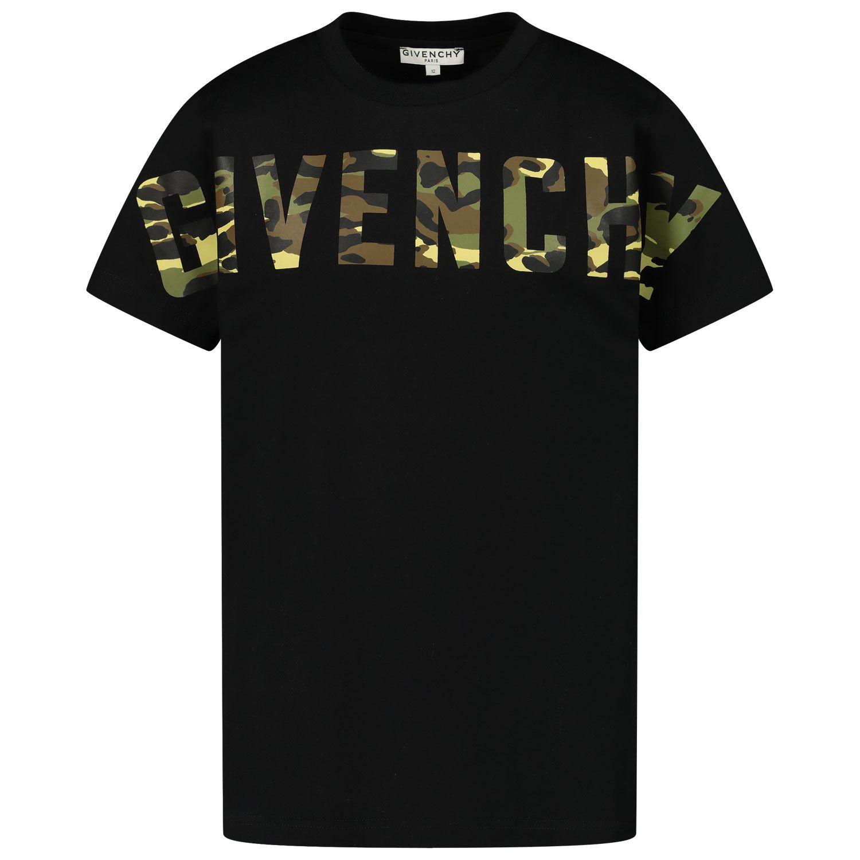 Bild von Givenchy H25248 Kindershirt Schwarz