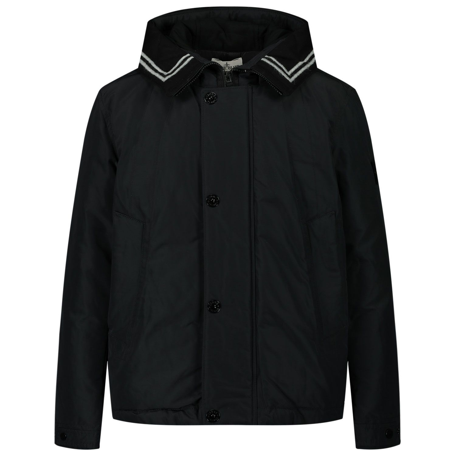 Picture of Stone Island MO731640734 kids jacket black