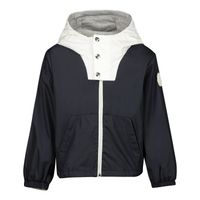 Picture of Moncler 1A71720 baby coat navy