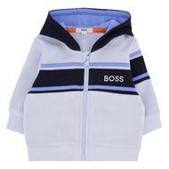 Afbeelding van Boss J95301 baby vest licht blauw