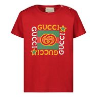 Bild von Gucci 548034 XJCPU Baby-T-Shirt Rot