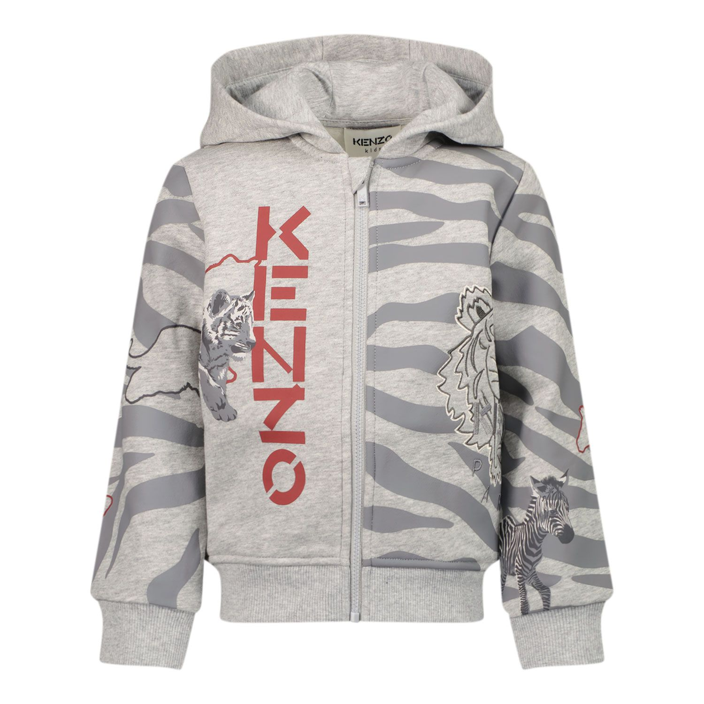 Picture of Kenzo K05072 baby vest grey